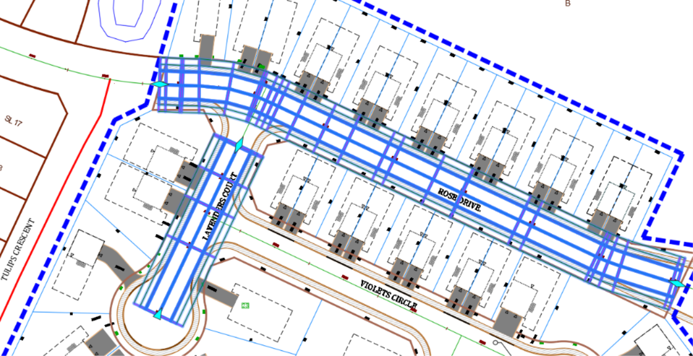 Civil 3D corridor baseline creation